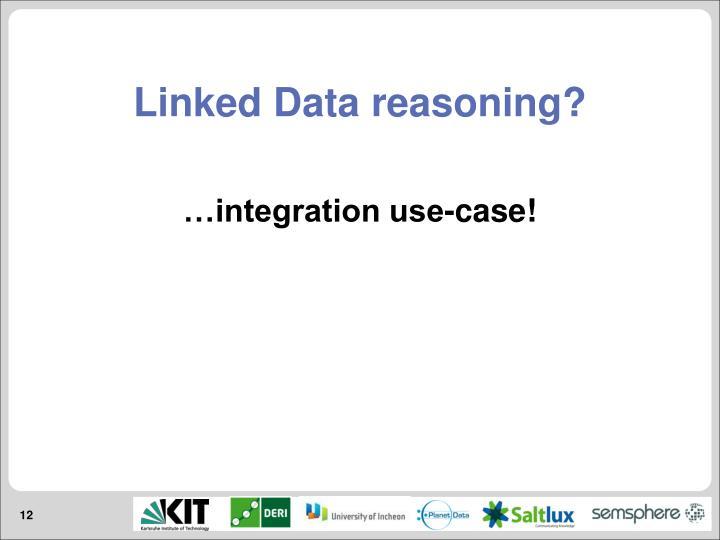 Linked Data reasoning?