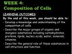 week 4 composition of cells