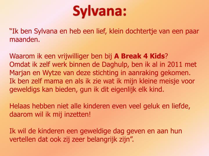 Sylvana: