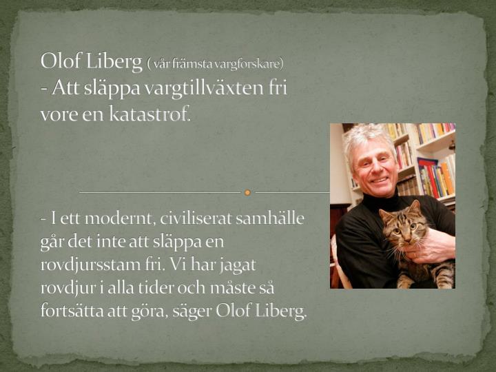 Olof Liberg