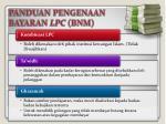 panduan pengenaan bayaran lpc bnm