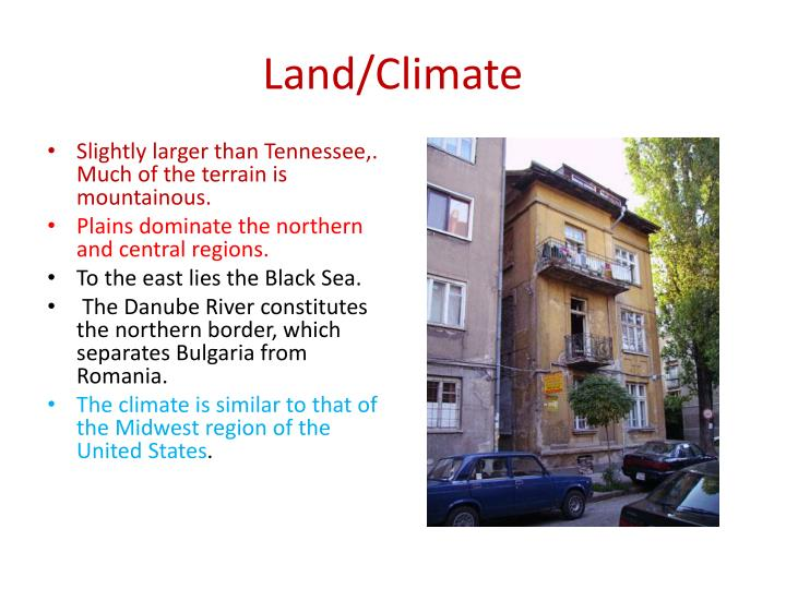 Land/Climate