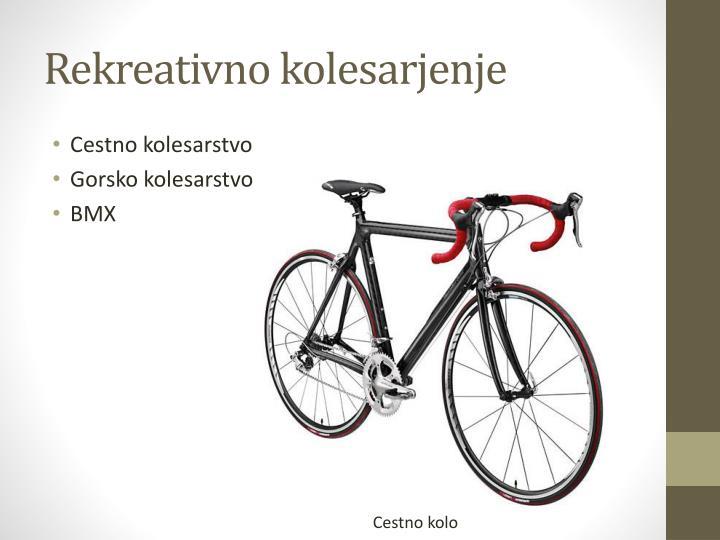 Rekreativno kolesarjenje
