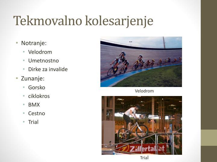 Tekmovalno kolesarjenje