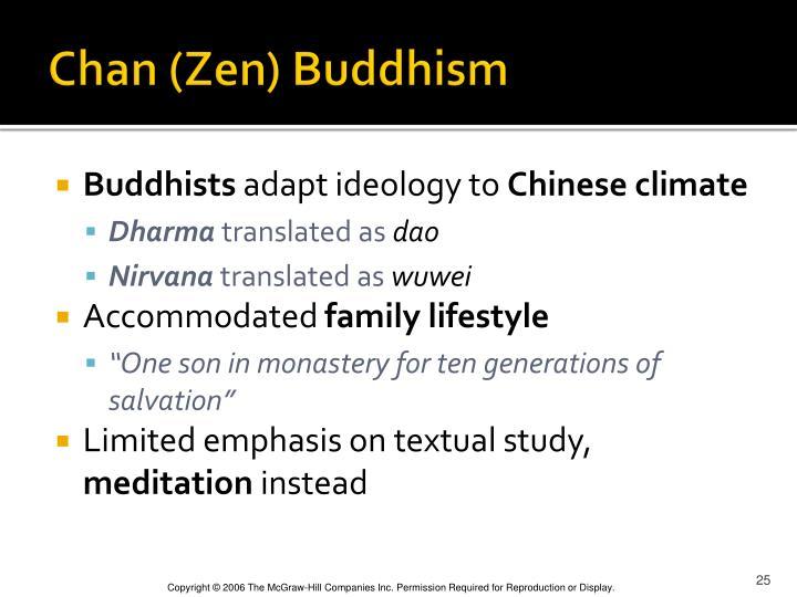 Chan (Zen) Buddhism