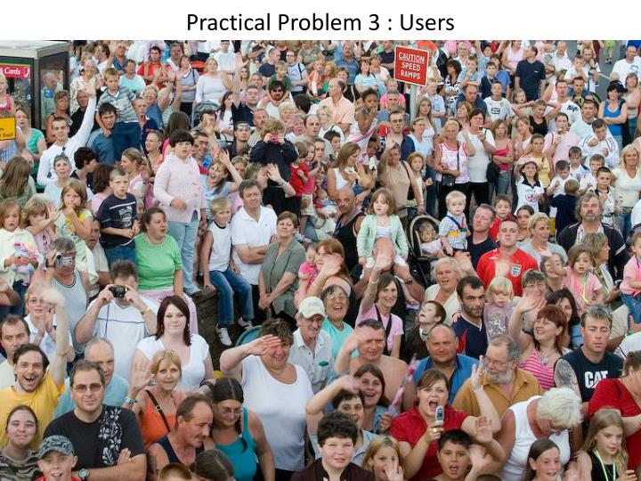 Practical Problem 3 : Users