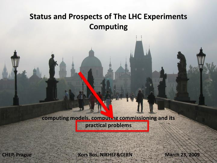 Status and Prospects of The LHC Experiments Computing