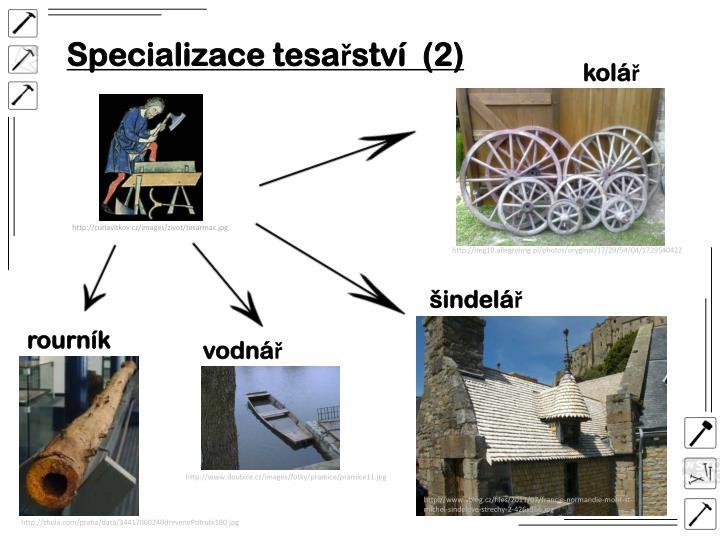Specializace tesařství  (2)