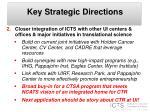 key strategic directions1