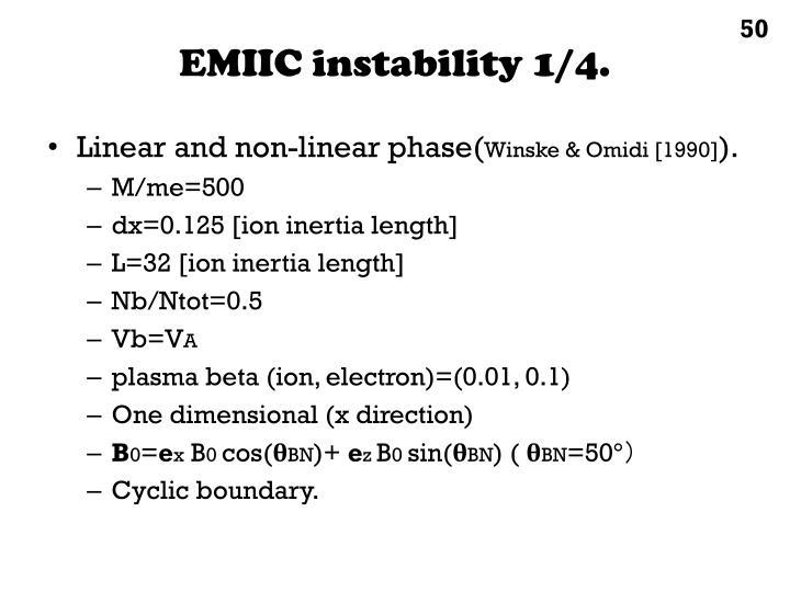EMIIC instability