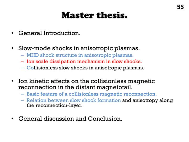 Master thesis.