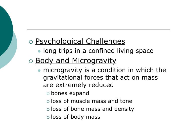 Psychological Challenges