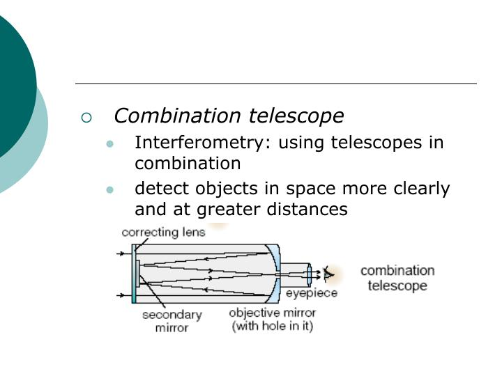 Combination telescope