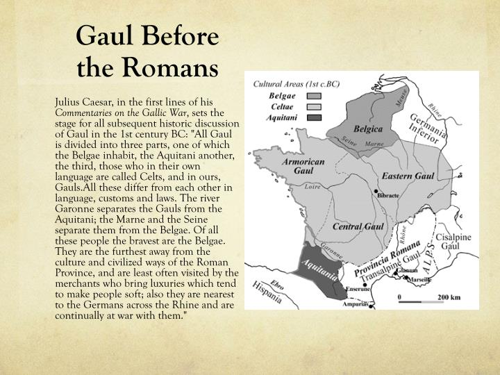 Gaul before the romans