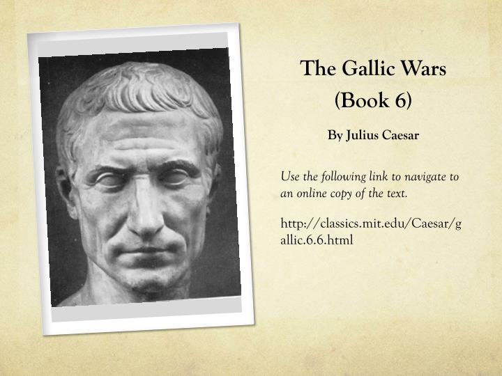 The Gallic Wars (Book 6)