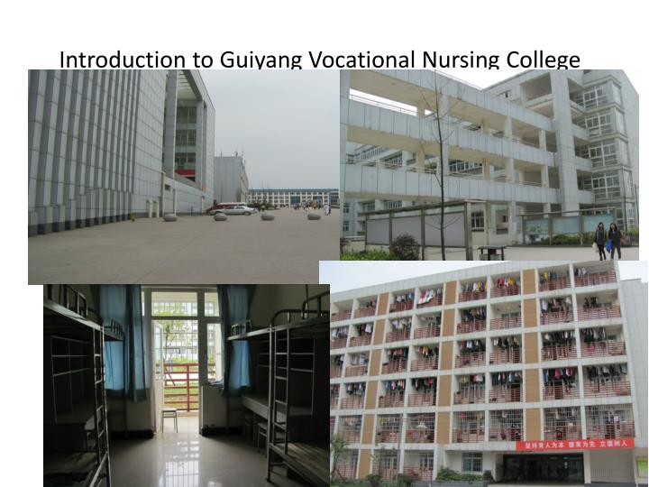 Introduction to Guiyang Vocational Nursing College