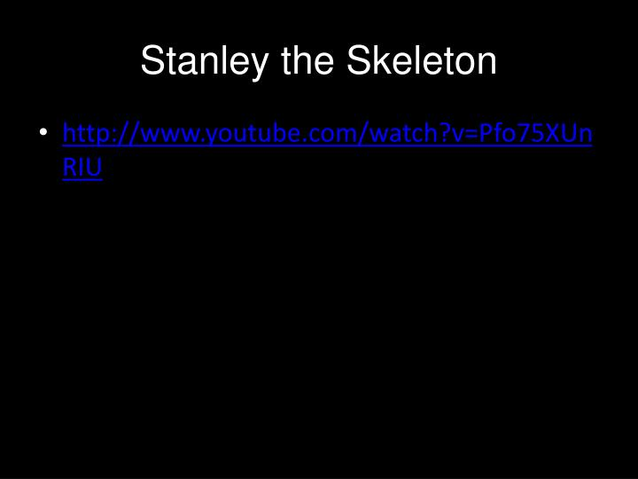 Stanley the Skeleton
