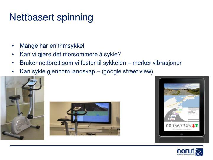 Nettbasert spinning