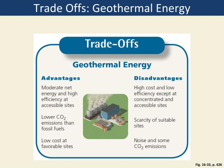 Trade Offs: Geothermal Energy