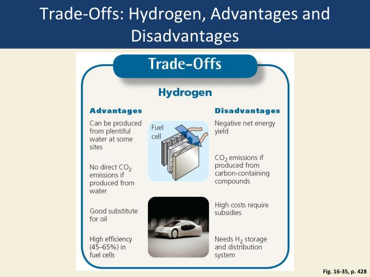 Trade-Offs: Hydrogen, Advantages and Disadvantages
