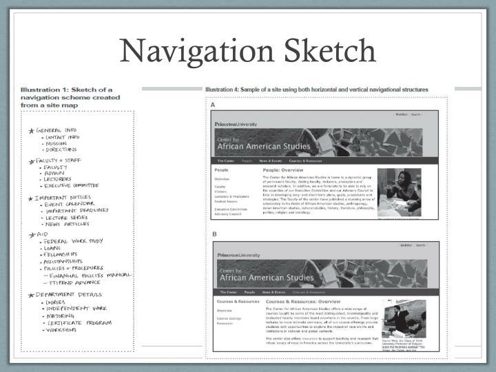 Navigation Sketch