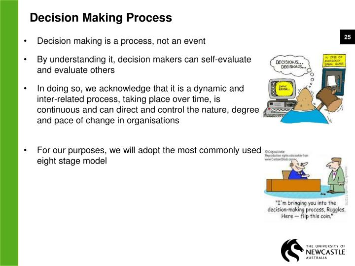 an overview of the processes of critical thinking and decision making Integrated critical thinking training and decision support for tactical anti-air warfare1 marvin s cohen, phd, jared t freeman, phd,  in relevant decision making skills might facilitate  and interposes a process of critical thinking when these conditions are not satisfied, the quick.