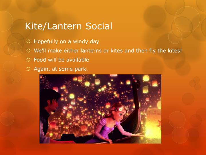 Kite/Lantern Social