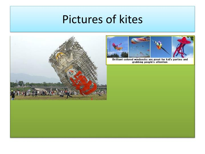 Pictures of kites