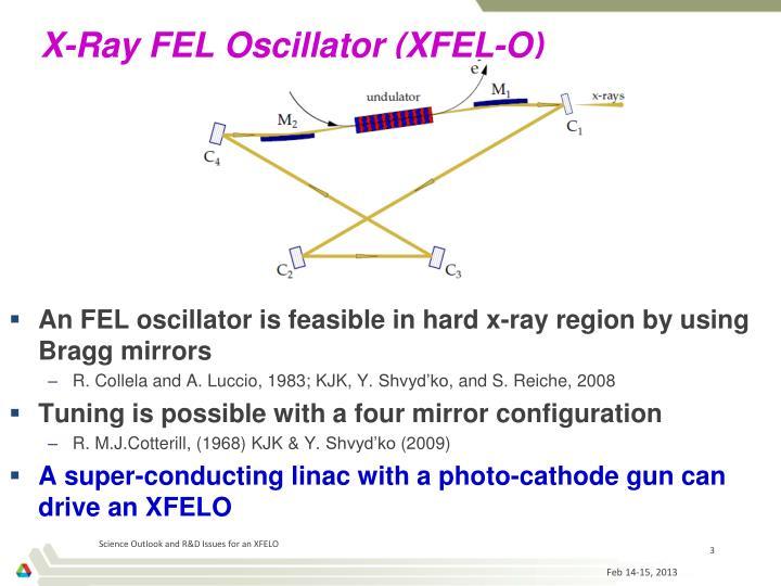 X-Ray FEL Oscillator (XFEL-O)
