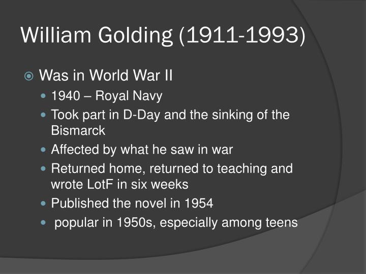 William Golding (1911-1993)