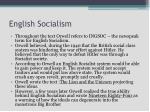 english socialism