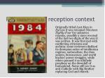 publication and reception context1