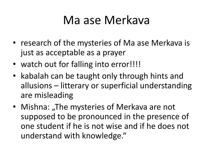 Ma ase Merkava