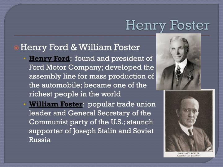 Henry Foster