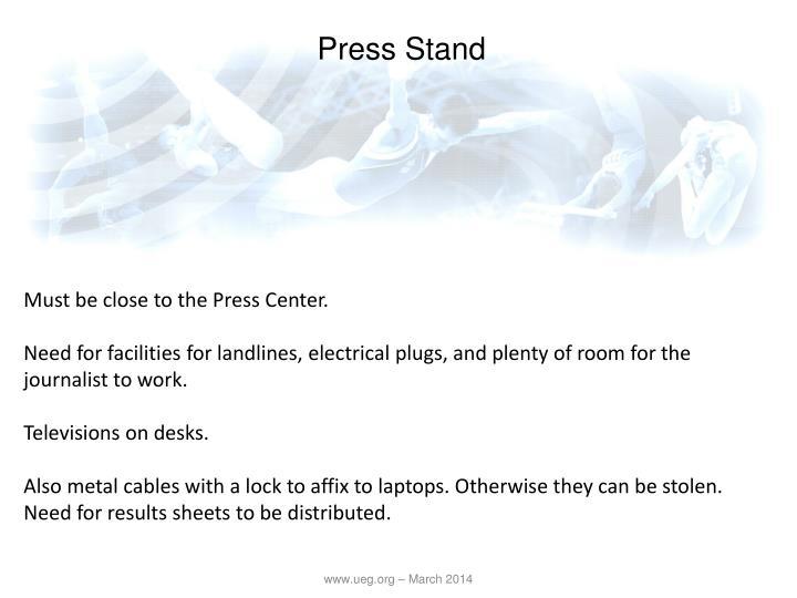 Press Stand