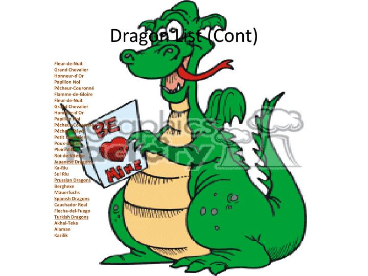 Dragon List (
