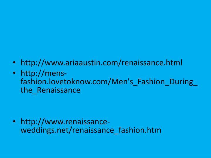 http://www.ariaaustin.com/renaissance.html