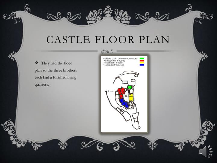 Castle floor plan