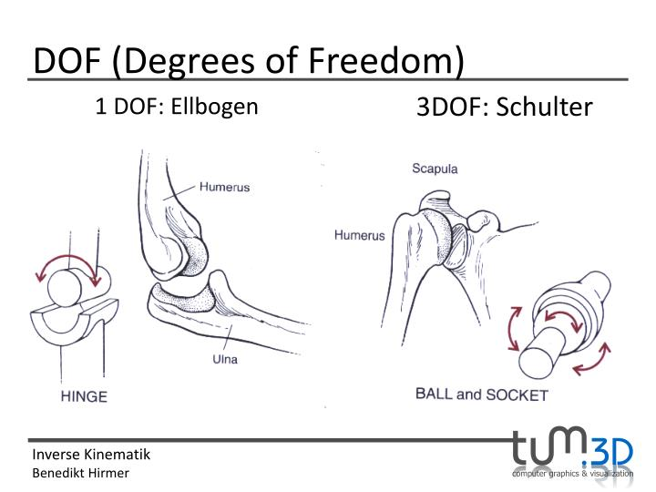 DOF (Degrees of Freedom)