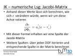 ik numerische lsg jacobi matrix2