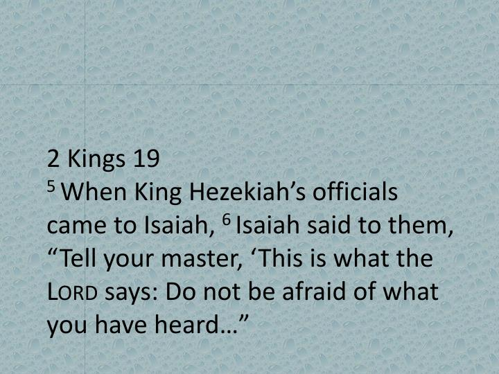 2 Kings 19