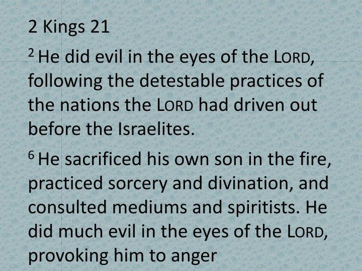 2 Kings 21