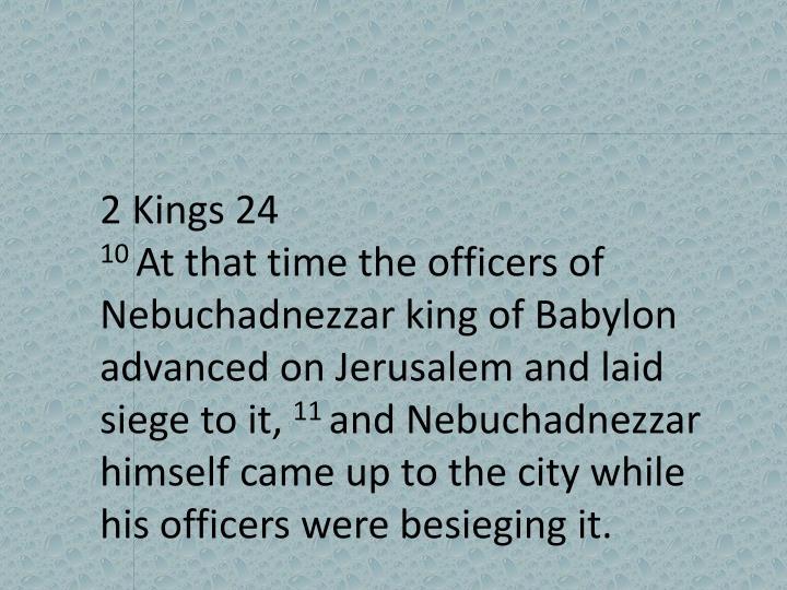2 Kings 24