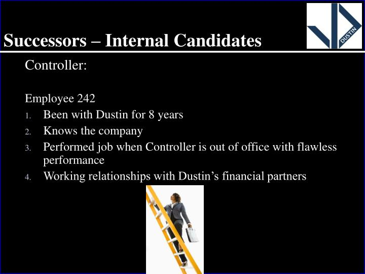 Successors – Internal Candidates