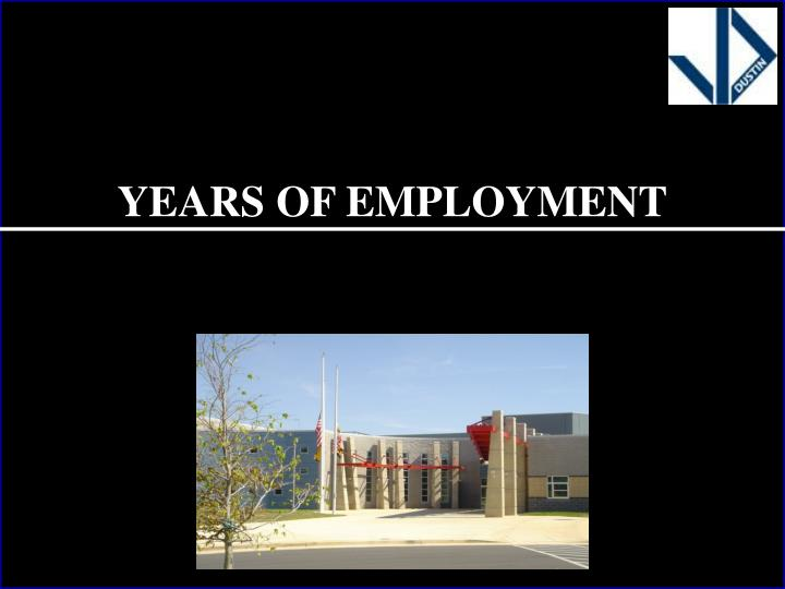Years of Employment