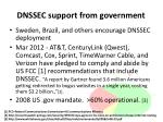 dnssec support from government