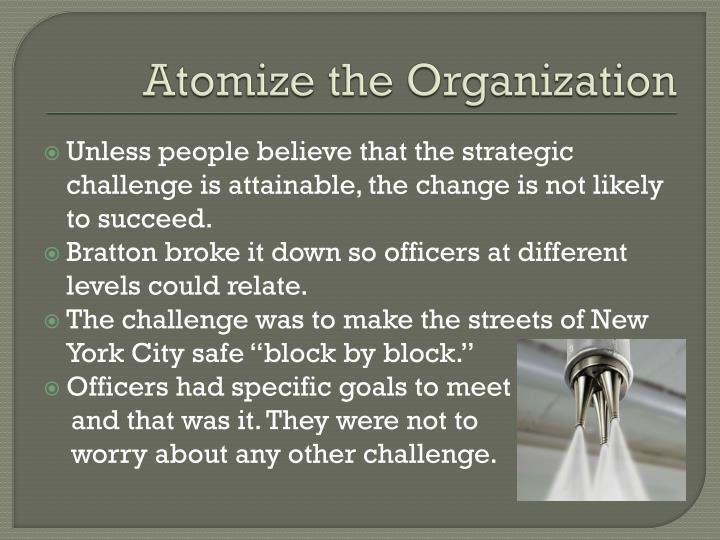 Atomize the Organization