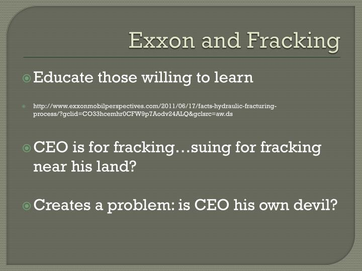 Exxon and