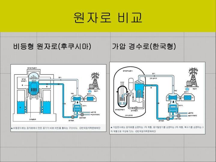 원자로 비교