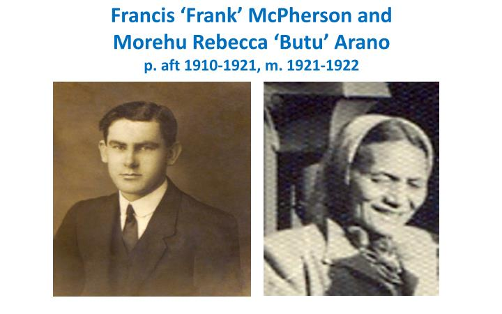 Francis 'Frank' McPherson and
